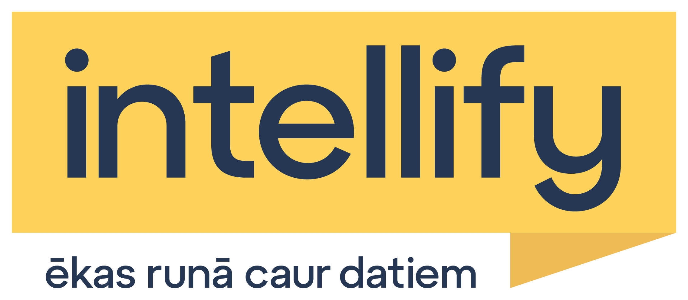 Intellify logo slogan